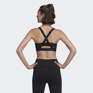 Top Don't Rest Iterations Cinza Mulher adidas by Stella McCartney