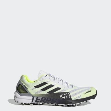 Men's TERREX White Terrex Speed Pro Trail Running Shoes