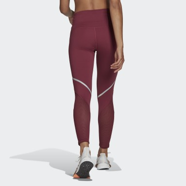 Mallas largas How We Do Burgundy Mujer HIIT