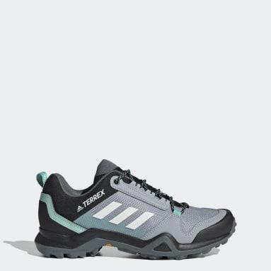 Women TERREX Grey Terrex AX3 Hiking Shoes