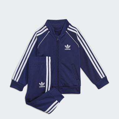 Kinderen Originals blauw Adicolor SST Trainingspak