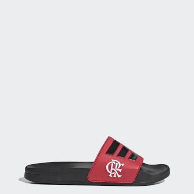 Plavání černá Pantofle Chinelo Flamengo adilette Shower