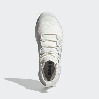 Women TERREX White Terrex Free Hiker Primeblue Hiking Shoes