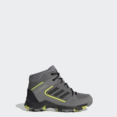 Children TERREX Grey Terrex Hyperhiker Hiking Shoes