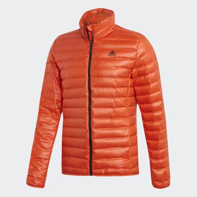 Men City Outdoor Orange Varilite Down Jacket