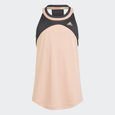 Dívky Tenis růžová Tílko Club Tennis