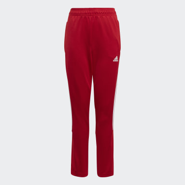 Youth Soccer Red Tiro Track Pants