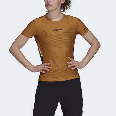 Camiseta Terrex Parley Agravic TR Pro Marrón Mujer TERREX