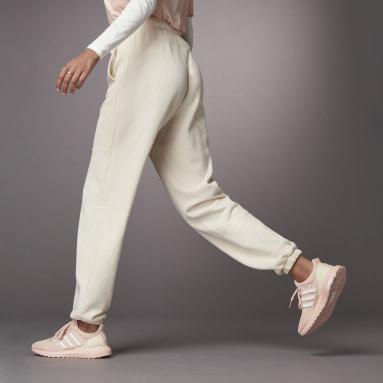 Pants Hyperglam Shiny Blanco Mujer Sportswear