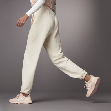 SWEATPANT SHINY Branco Mulher Sportswear