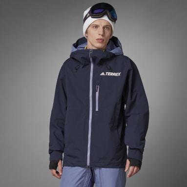 Männer TERREX Resort Three-in-One Skijacke Blau