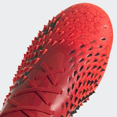 Fotbal červená Kopačky Predator Freak.1 Artificial Grass