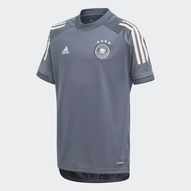Kids Football Black Germany Training Jersey