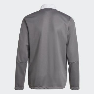 Youth Lifestyle Grey Tiro 21 Track Jacket