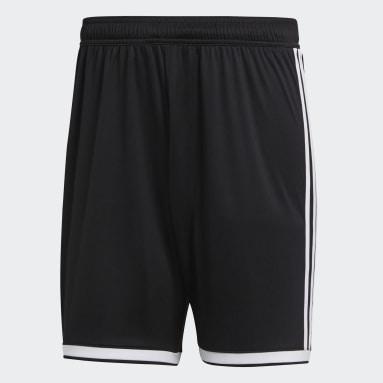 Men Football Black Regista 18 Shorts