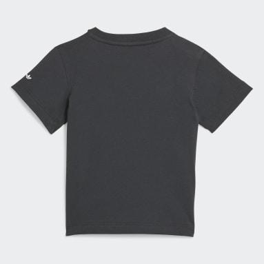 Camiseta Adicolor Preto Kids Originals