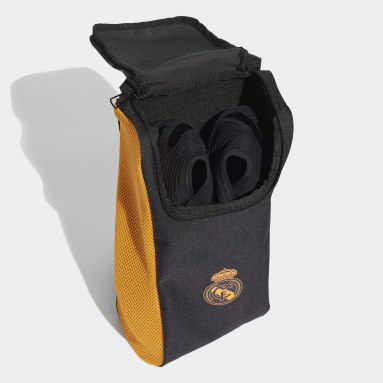 Football Black Real Madrid Shoe Bag