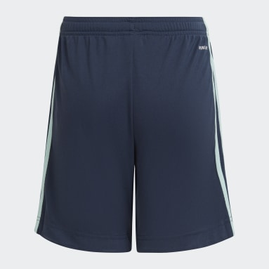 Youth 8-16 Years Football Blue Leicester City FC 21/22 Away Shorts