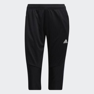 Women's Soccer Black Tiro 19 3/4 Pants
