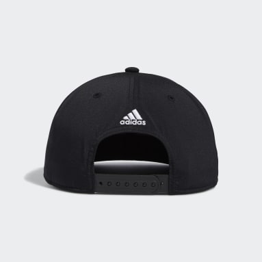 Men's Training Black Badge of Sport Logo Snapback Hat