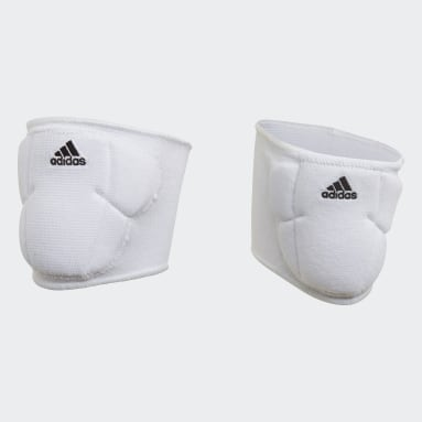 Youth Volleyball White 5-Inch Volleyball Kneepads