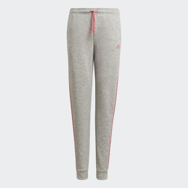 adidas Essentials 3-Stripes French Terry Pants Szary