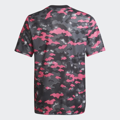 Camiseta calentamiento Arsenal Rosa Niño Fútbol