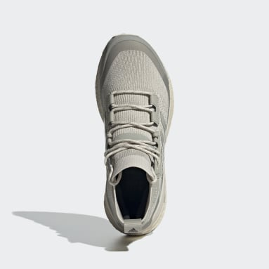 Women TERREX Beige Terrex Free Hiker Parley Hiking Shoes