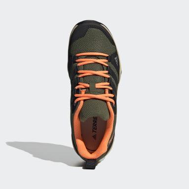 Kids TERREX Green Terrex AX2R Hiking Shoes