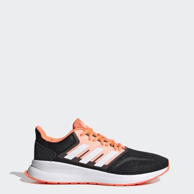 Women Running White Runfalcon Shoes