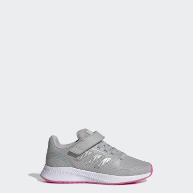 Children Running Grey Runfalcon 2.0 Shoes