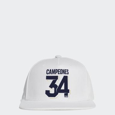 Football White REAL MADRID 2020 SPANISH CHAMPIONS CAP