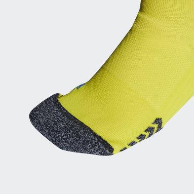Football Yellow Manchester United 21/22 Third Socks