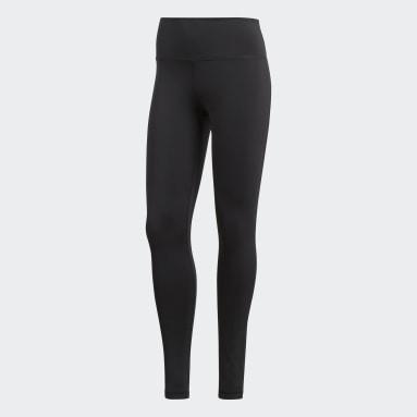 Calça Legging Solid Believe This Preto Mulher Training