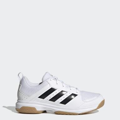 Frauen Tischtennis Ligra 7 Indoor Schuh Weiß