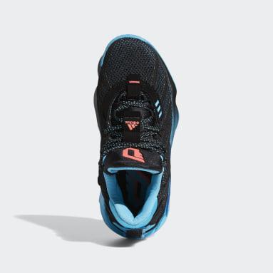 Kids Basketball Black Dame 7 Visionary Shoes