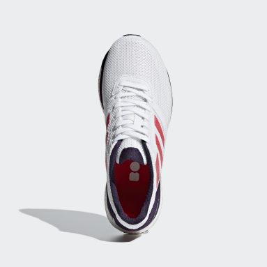 Women's Running White Adizero Adios 4 Shoes