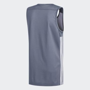 Mænd Basketball Sort 3G Speed Reversible trøje