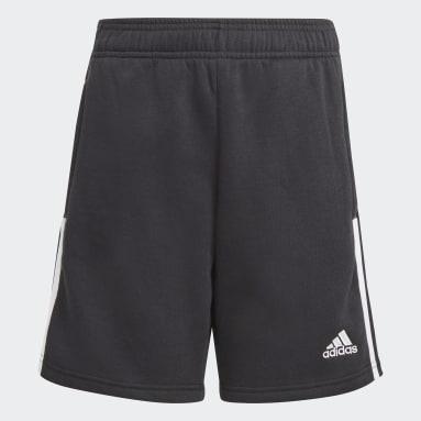 Youth 8-16 Years Football Black Tiro 21 Sweat Shorts
