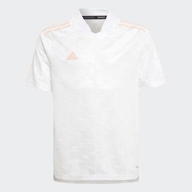Maillot Condivo 21 Primeblue Blanc Garçons Football