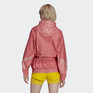 Coupe-vent adidas by Stella McCartney Rose Femmes adidas by Stella McCartney