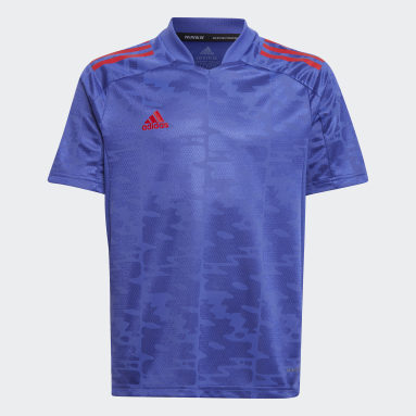 Camiseta Condivo 21 Primeblue Violeta Niño Fútbol