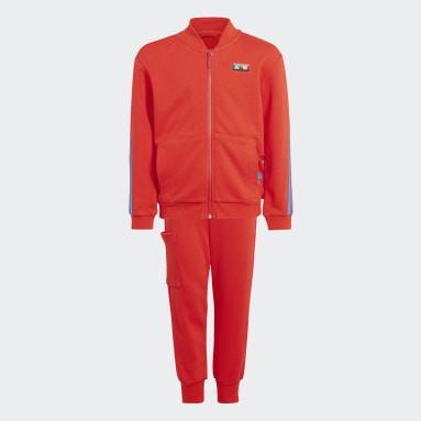 красный Спортивный костюм adidas x Classic LEGO® 3-Stripes