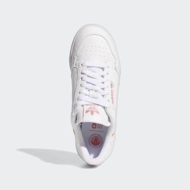 Kvinder Originals Hvid Continental 80 Vegan sko
