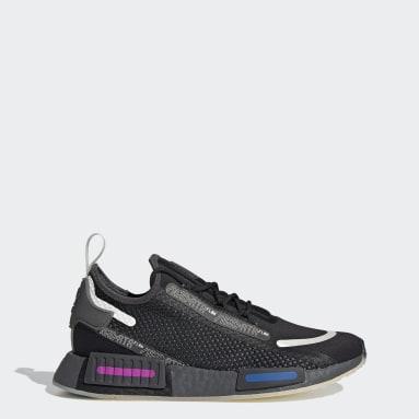 ผู้หญิง Originals สีดำ รองเท้า NMD_R1 Spectoo