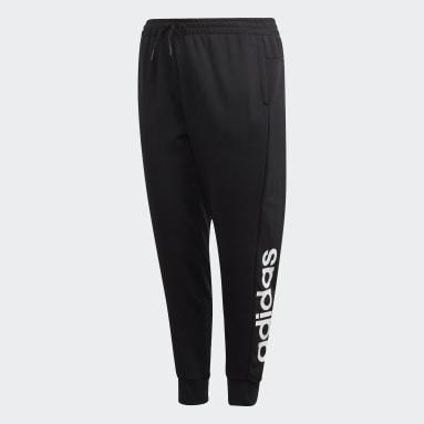 Pantalon Essentials (Grandes tailles) Noir Femmes Sportswear
