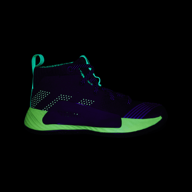 Kids Basketball Black Dame 5 Star Wars Lightsaber Green Shoes