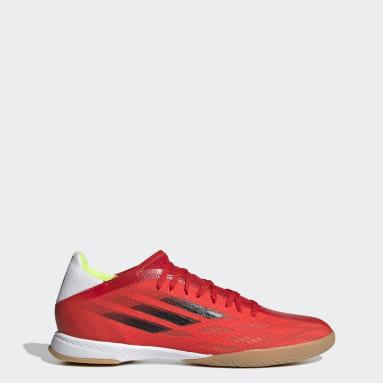 Scarpe da calcio X Speedflow.3 Indoor Rosso Futsal