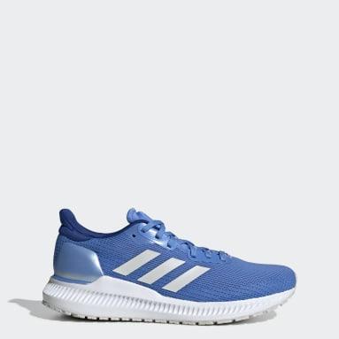 Dam Löpning Blå Solar Blaze Shoes