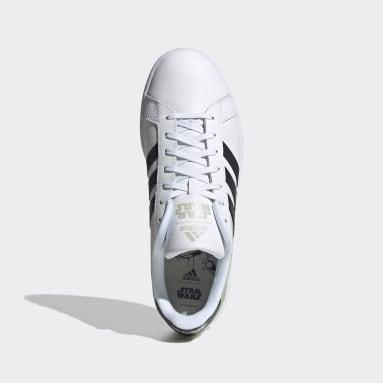 Men's Essentials White Grand Court Shoes